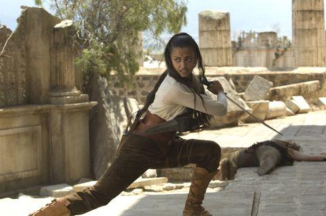 "Aishwarya Rai, ""The Last Legion"", 2007 #sword"
