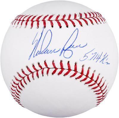 Nolan Ryan Signed Baseball With 5714 K S Insc Fanatics Baseball Nolan Ryan Baseball Online Autographed Baseballs