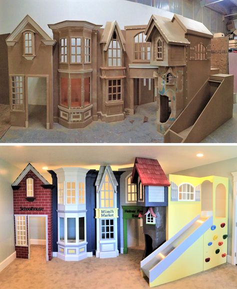 Classic Storefront Playhouse - Designed by Tanglewood Design