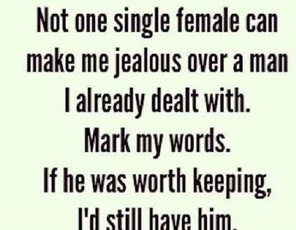 Sarcastic ex boyfriend quotes
