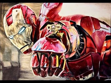296 Como Dibujar A Ironman Realista Con Lapices De Colores How To Draw Ironman Youtube Toddler Art Projects Art Drawings Simple Easy Drawings