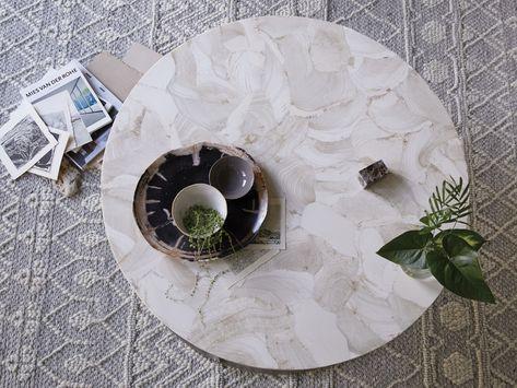 Arielle Coffee Table Arhaus Furniture Handwoven Rugs Coffee
