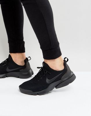 Nike Presto Fly Trainers In Black 908019 001 | Black nike