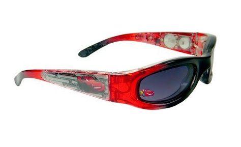 100/% UV Protection Disney Pixar Cars Lighting McQueen Kids Sunglasses in Black