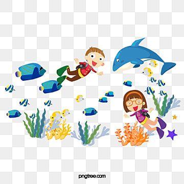 ดำน ำในเด ก เด ก ๆ ปลาฉลาม เวกเตอร ภาพ Png และ Psd สำหร บดาวน โหลดฟร ในป 2021 เด ก ๆ การดำน ำ เด ก