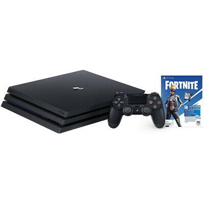 Details About Playstation 4 Pro 1tb Console Black Fortnite Neo Versa Bundle Gaming Gear Playstation Ps4 Wireless Controller