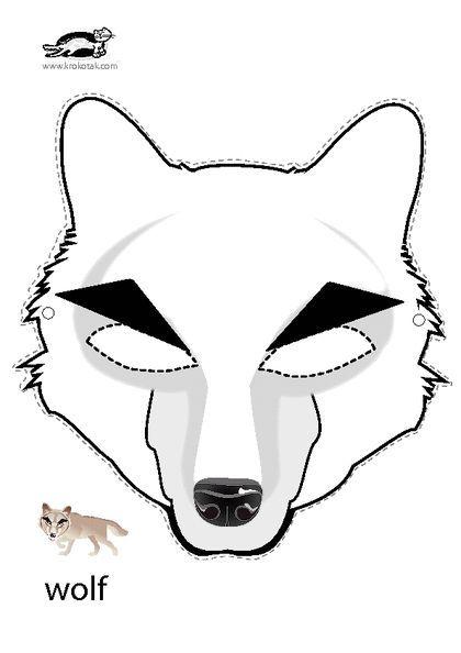 Pin Di Sara Nissley Su Wolves Maschere Carnevale Animali