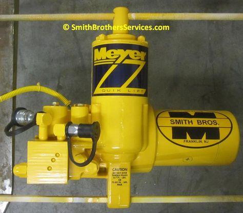 Meyer E 60 Rebuilt For Customer Snow Plow Repair Smith Bros