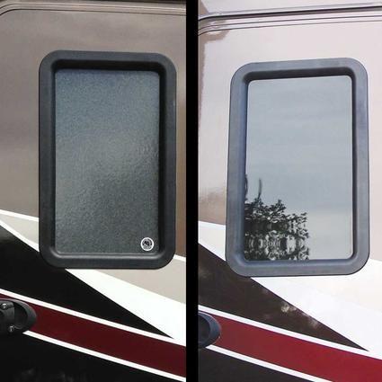 Clear View Entry Door Window Kit Entry Door Window Entry Doors Entry Door Hardware