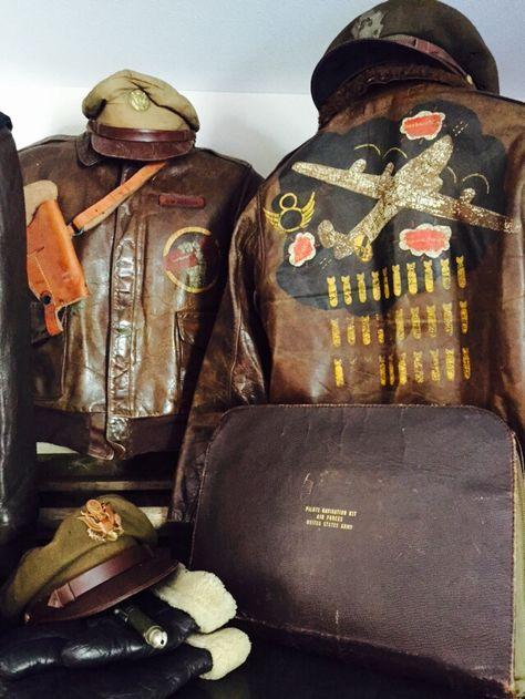 Original Painted A-2 Flight Jackets
