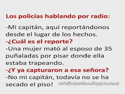 Frases Cartelitos Para Face Chiste Los Policias Memes