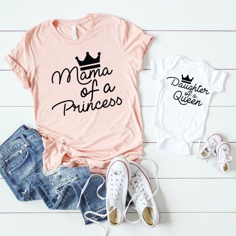 Proud Daughter of A Princess Mermaid Toddler Short Sleeve Tee