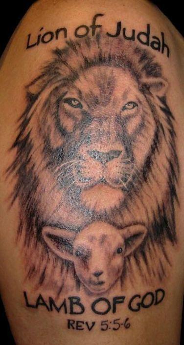 64 New Ideas For Tattoo For Women Kids God Tattoo Lamb Tattoo Lion And Lamb Thigh Tattoos Women