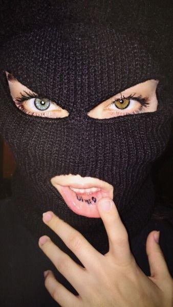 Girl With Ski Mask Tumblr Bad Girl Aesthetic Aesthetic Girl Bad Girl Wallpaper