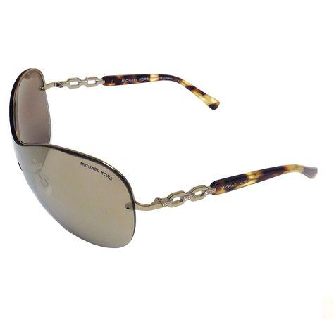 Michael Kors MK1002B 10046E Gold/Gold Mirror 40mm Sunglasses