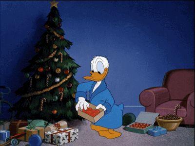 #Disney #Donald #Christmas #Gif