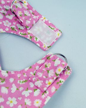 Summer Print Dog Step In Harnesses 4 Prints Dog Clothes