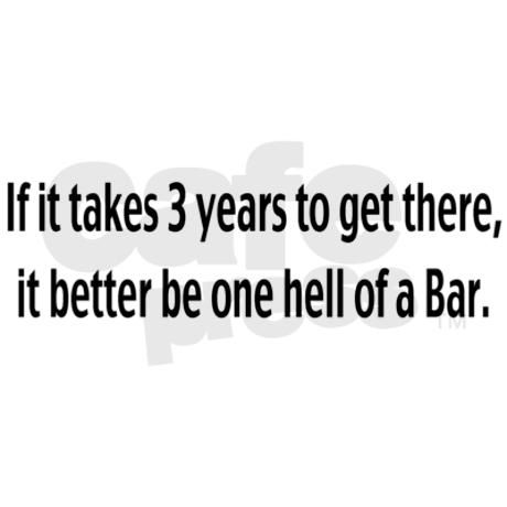 At the end, what is waiting for you is another test: the Bar.  If you think prepping for the LSAT was tough, bar review is a full time job for a couple months of your life.