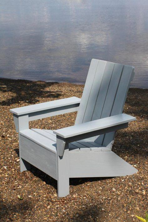 Rustic Yet Comfy Adirondack Chairs Are Pieces Of Patio Furniture In