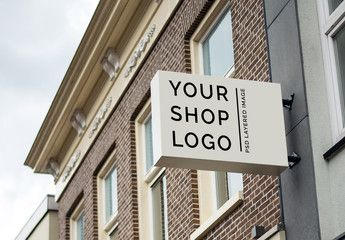 Browse our gallery of professionally designed retail signs and templates. Identity Corporate Stock Photos Royalty Free Images Vectors Video Shop Logo Logo Mockup Brochure Design Template