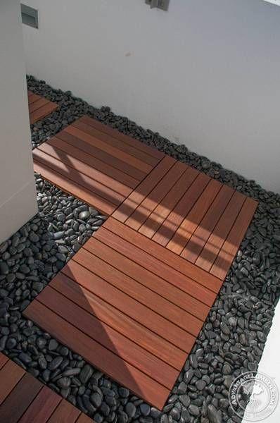 Ipe Deck Tiles On Rooftop Balcony St Petersburg Fl Deck Tiles Backyard Pool Designs Deck Tiles Patio
