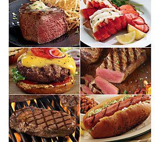 Kansas City Steak All Star Cookout Combo Qvc Com Food Food Drink Gourmet