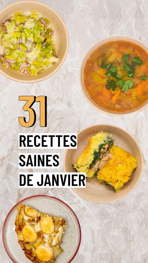 31 recettes de janvier