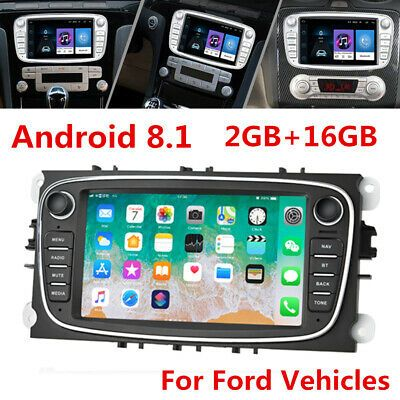 Ad Ebay 7 Android Car Stereo Radio Gps For Ford Focus Mondeo S