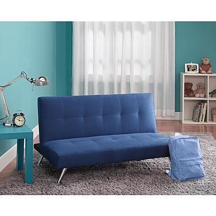 Stupendous Unique Sleek Modern Small Space Junior Convertible Sofa Squirreltailoven Fun Painted Chair Ideas Images Squirreltailovenorg
