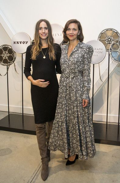Louise Roe and actress Maggie Gyllenhaal attend the Autograph Collection Hotels' exclusive screening of 'Gemini.'