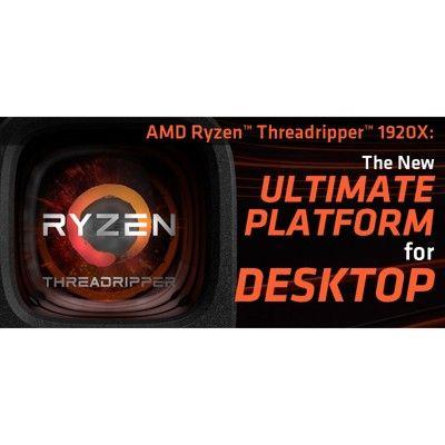Amd Ryzen Threadripper 1920x Processor 12 Cores 24 Threads 38mb Cache Amd Snsemi Technology 4 0 Ghz Max Boost Technology Quad Helping Others