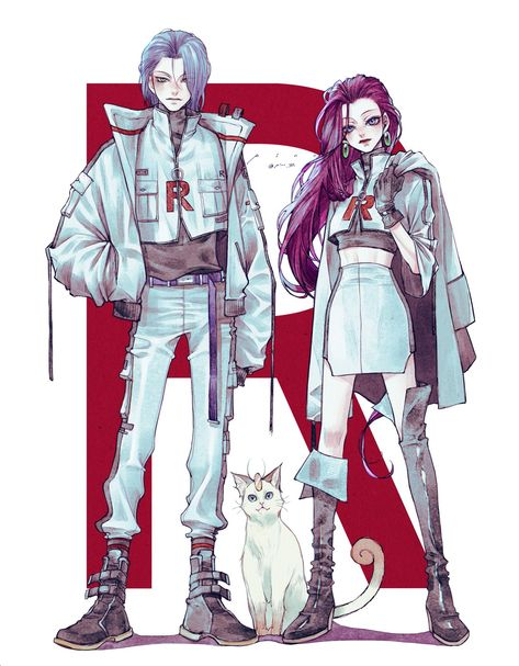 Did you realize that team rocket NEVER appears in any pokemon games except Pokemon Yellow? Fan Art Pokemon, Pokemon Team Rocket, Equipe Rocket Pokemon, Pokemon Memes, Manga Anime, Fanarts Anime, Anime Art, Anime Guys, Team Rocket James