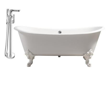 Streamline Rh5020whch120 2 428 00 Soaking Bathtubs Cast Iron Tub Tub