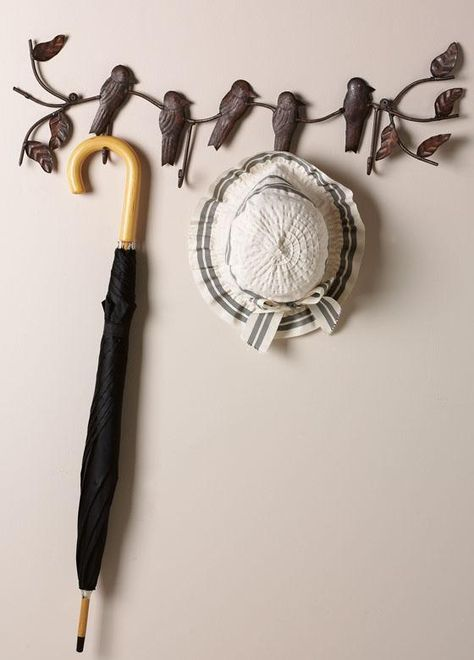 Gojee - Birds on a Vine Coat Rack by Home Decorators Collection