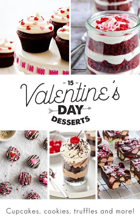 15 Valentine's Day Desserts of Ultimate Decadence