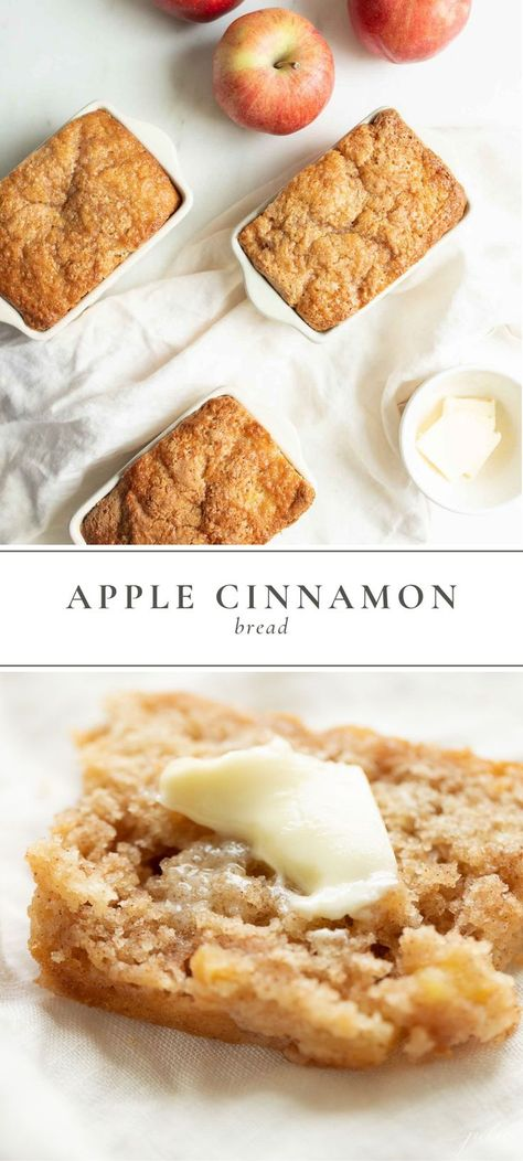 Easy Apple Cinnamon Bread Recipe | Julie Blanner