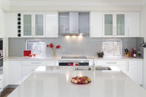 Cocinas Integrales Blanco Cocinas Pequenas Cocinas Blancas Cocinas