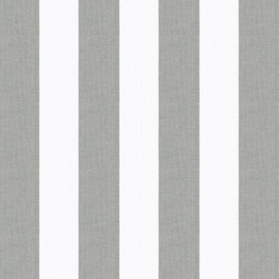 Aleko Retractable Awning Replacement Fabric Wayfair In 2020 Grey And White Striped Wallpaper Grey Fabric Grey Stripes