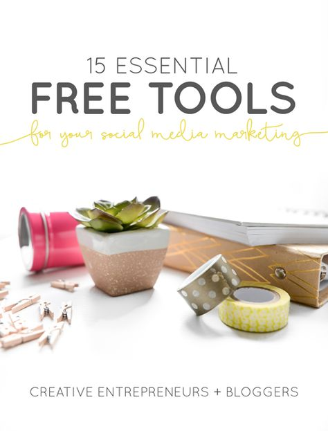 15 Essential Free Tools for Your Social Media Marketing — Boss Project