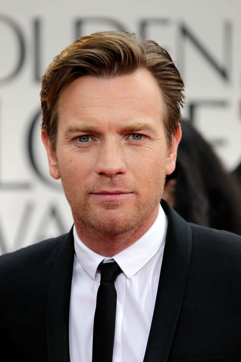 Ewan McGregor was in Dior Homme at the Golden Globe Awards 2012 at the Beverly Hilton Hotel