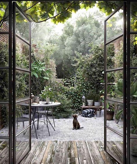 886 gilla-markeringar, 20 kommentarer - Patricia  Robert Elm (@livochstil) på Instagram: Such a dreamy beautiful backyard ♡ Shared by @interior_delux . . . . . . . . . . #interiordesign…