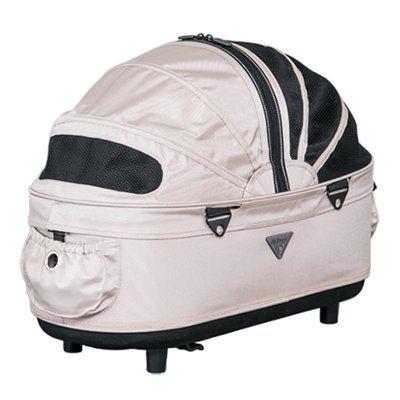 Airbuggy Reismand Hondenbuggy Dome2 M Cot Sand Beige Honden Wandelwagen Honden Gelukkige Honden