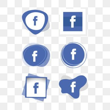 Facebook Icon Logo Collection Set Social Media Vector Illustrator Facebook Icons Social Icons Logo Icons Png And Vector With Transparent Background For Free Social Icons Facebook Icons Logo Icons