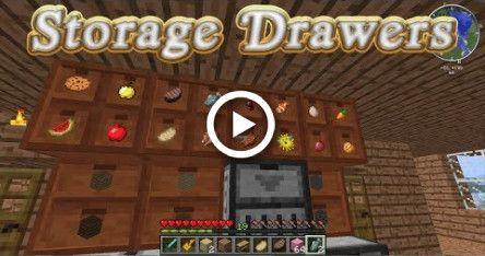 Storage Drawers Mod Showcase Minecraft 1 12 2