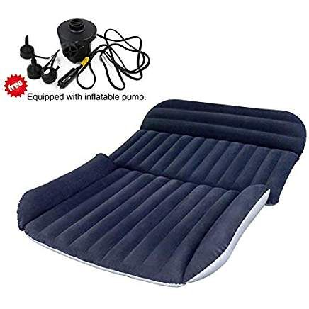 Bhmotorus Mobile Inflation Travel Thicker Back Seat Cushion Air