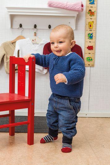 10 01. RÄTSTICKADE BASPLAGG TILL BABY | Stickmönster, Sticka