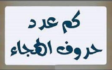 عدد الحروف الهجائية العربية حروف اللغة العربية Arabic Calligraphy Calligraphy