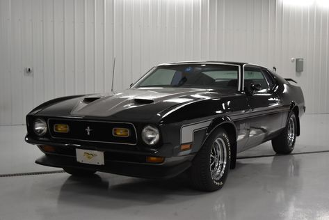 1972 Ford Mustang Mach 1 Fast Back