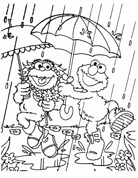 the awesome interesting rainy day coloring sheets httpcoloringalifiah - Rainy Day Coloring Pages
