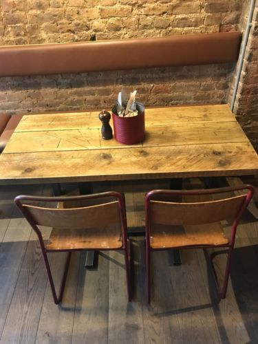 Restaurant Table Shabby Chic Rustic